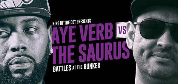Aye Verb vs The Saurus